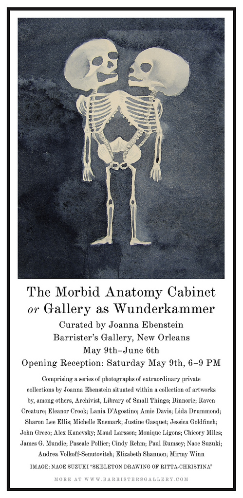 Phantasmaphile: Morbid Anatomy show in New Orleans!