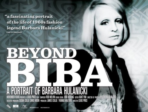 Beyond Biba Barbara hulanicki movie poster
