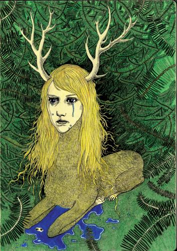 Deer-lady