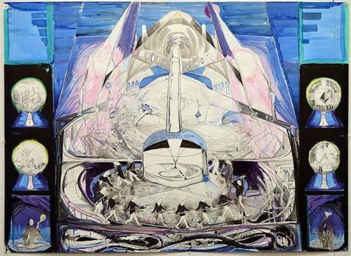 Galerie-jan-dhaese-ghent-booth-d18-presents-max-razdow-s-metropolis-drawings-at